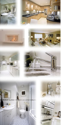 Some interior views of our new homes, click to view our current new home offerings